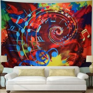 Other - Tapestry Music Note Psychedelic Mandala